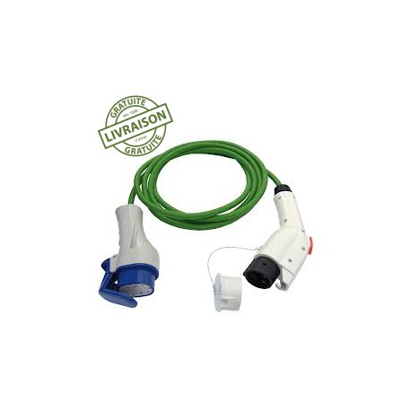 Cable adaptateur Type 3 - Type 1